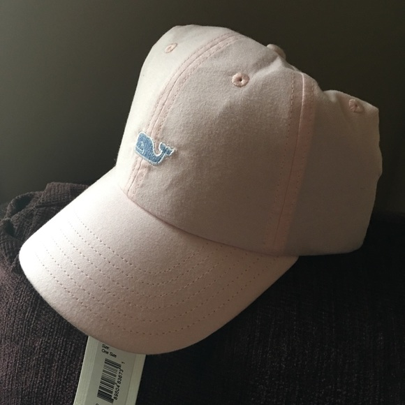 59de037aa73 Vineyard Vines Pink Oxford Baseball Hat